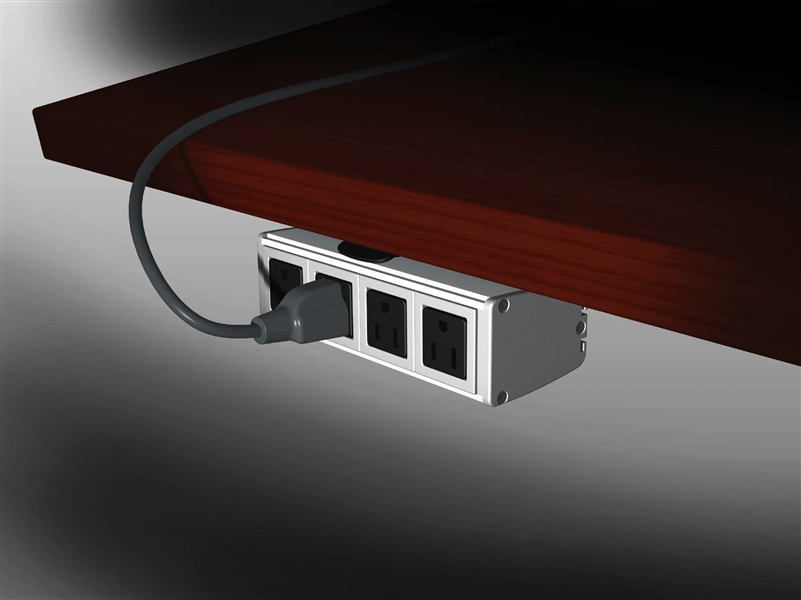 Power Data Video Cable Management Modules Enhance Your Desktop And - Under conference table cable management