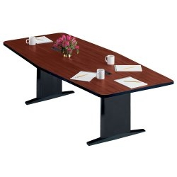 Mayline CSII Conference Table Boat Shape - 120 conference table