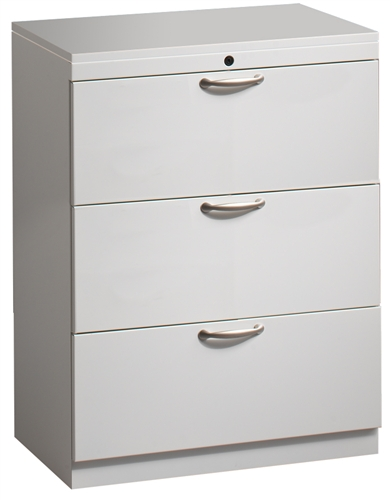 Great Openings Trace 3 Drawer Lateral File Cabinet 36 W