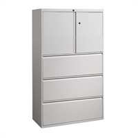 "Great Openings Storage - Lateral File - 3 Drawer with Storage Cabinet - 65 7/8""H x 42""W"