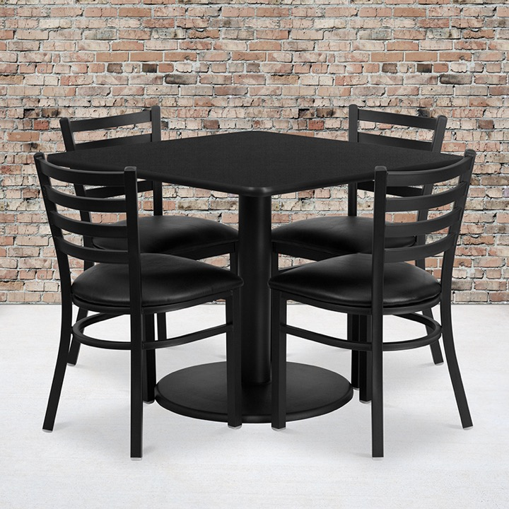 Wow Laminate Restaurant Table And Chair Sets Enhance Your Space