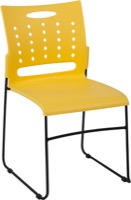 Yellow Plastic Stack Chair