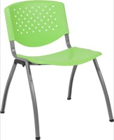 Green Plastic Stack Chair