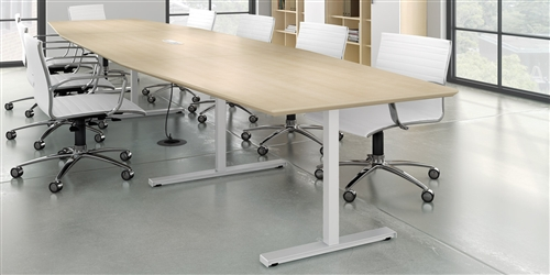Watson Seven Conference Tables Made In America - Desk conference table combination