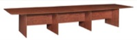 "Sandia 192"" Boat Shape Modular Conference Table featuring Lockdowel Assembly - Cherry"