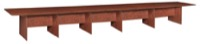 "Sandia 288"" Boat Shape Modular Conference Table featuring Lockdowel Assembly - Cherry"