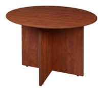 "Sandia 42"" Round Conference Table - Cherry"