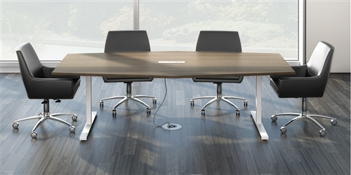 Watson Seven Conference Tables Made In America - Trapezoid conference table