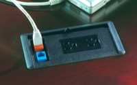 Mayline Conference Table Power, Data, Phone Module