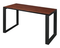 "Structure 42"" x 24"" Training Table - Cherry/Black"