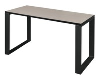 "Structure 42"" x 24"" Training Table - Maple/Black"