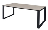 "Structure 66"" x 36"" Training Table - Maple/Black"