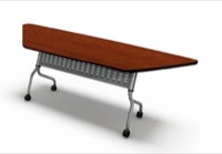 Mayline Sync Training Table - SYP24T - Trapezoid