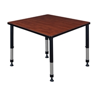"Kee Classroom Table - 36"" Square Height Adjustable"