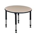 "Kee Classroom Table - 36"" Round Height Adjustable"