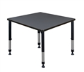 "Kee Classroom Table - 42"" Square Height Adjustable"