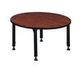 "Kee Classroom Table - 42"" Round Height Adjustable"