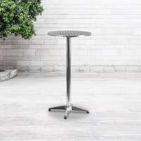 Aluminum Patio Bar Tables