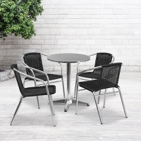 Aluminum Patio Table and Chair Sets