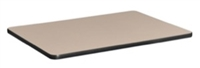"18.5"" x 26"" Standard Rectangle Table Top - Beige/ Grey"
