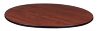 "30"" Round Slim Table Top - Cherry/ Maple"