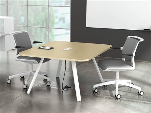 Watson Tonic Meeting Tables Made In America - Square meeting table