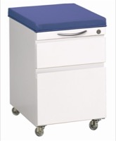 Great Openings Storage - Mobile File Center with Cushion