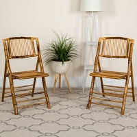 Folding Chairs Bamboo