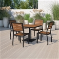 Teak Patio Table and Chair Sets