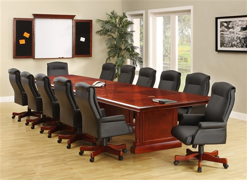 DMI Keswick Conference Table English Cherry - 144 conference table