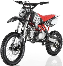 125cc Dirt Bike Apollo X18