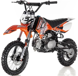 125cc Dirtbike Apollo X5 125cc Dirt Bike