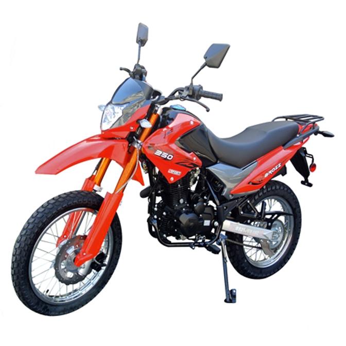 Bashan Brozz 250 Enduro Motorcycle 19''/17'' Tires