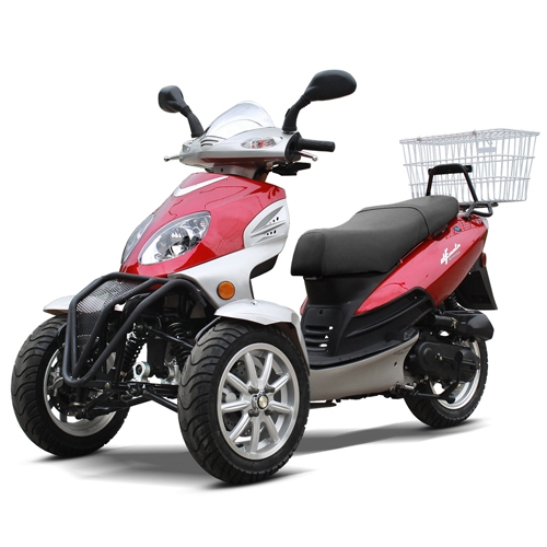 3 Wheel Scooter For Adults >> Dfmoto 50cc Trike Scooter Type Tka