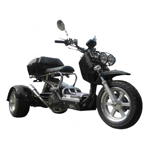 150cc Gas 3 Wheeler Trike Scooter on