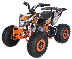 "RPS 125CC EGL Madix ATV 125cc Performance Racing ATV, Semi-Automatic Transmission w/Reverse! Remote Control, LED Tail Light, Big 19""/18"" Tires"