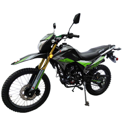 250cc Dirt Bike RPS Hawk DLX 250 EFI Enduro Motorcycle