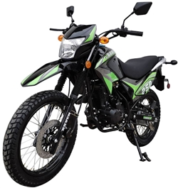 250cc Dirt Bike Vitacci Raven 250 Enduro Motorcycle
