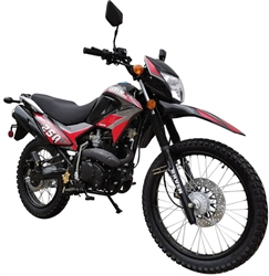 250cc Dirt Bike Vitacci Raven XL 250 Enduro Motorcycle