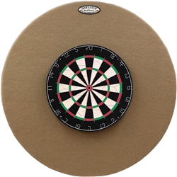 "36"" Professional Dartboard Backboard, Round"