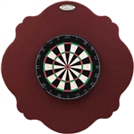 "36"" Professional Dartboard Backboard, Scalloped"