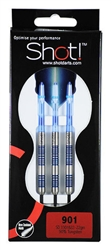 Shot! 901 90% Tungsten Steel-Tip Darts (3301)