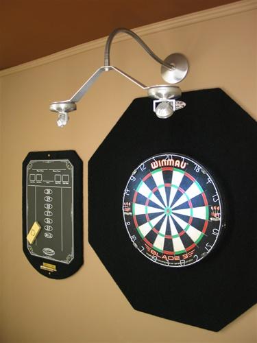 Dart-Center Cordless LED Dartboard Light, Flexible