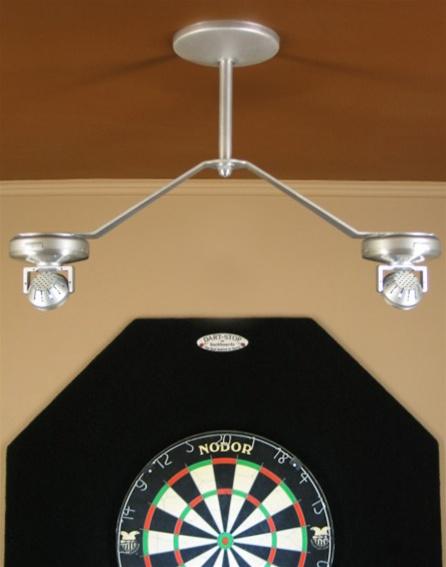 Special! & Dart-Center Cordless LED Dartboard Light azcodes.com