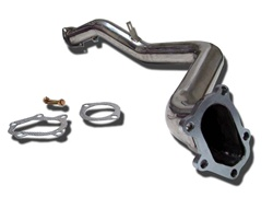 Megan Racing Subaru Impreza WRX 02-05 stainless steel down pipe