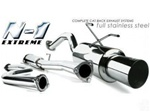 N1 Saturn ION 03+  Coupe catback exhaust system