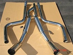 SRS Ford Mustang GT V6 05-08 catback exhaust system