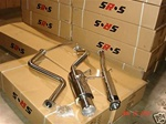 SRS Honda Civic 92-95 Hatchback catback exhaust system