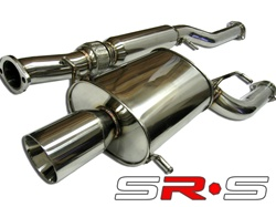 SRS Subaru WRX STI 02-07 Type-RE catback exhaust + uppipe & downpipe
