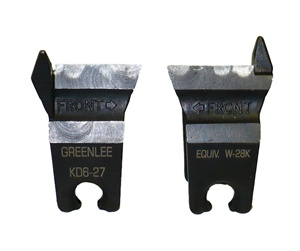 Greenlee KD6-27 Cutter die